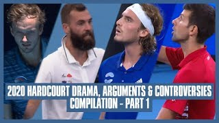 Tennis Hard Court Drama 2020 | Part 01 | A Scolding from Mother Dearest