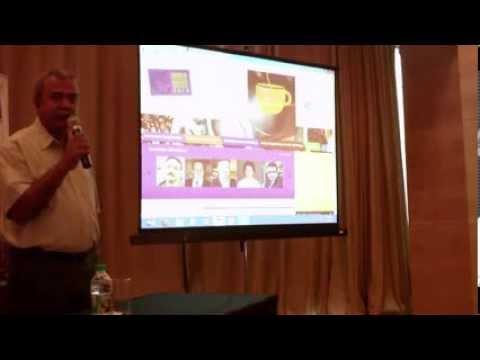 2 / 10 India International Coffee Festival 2014 press briefing Ramesh P Rajah