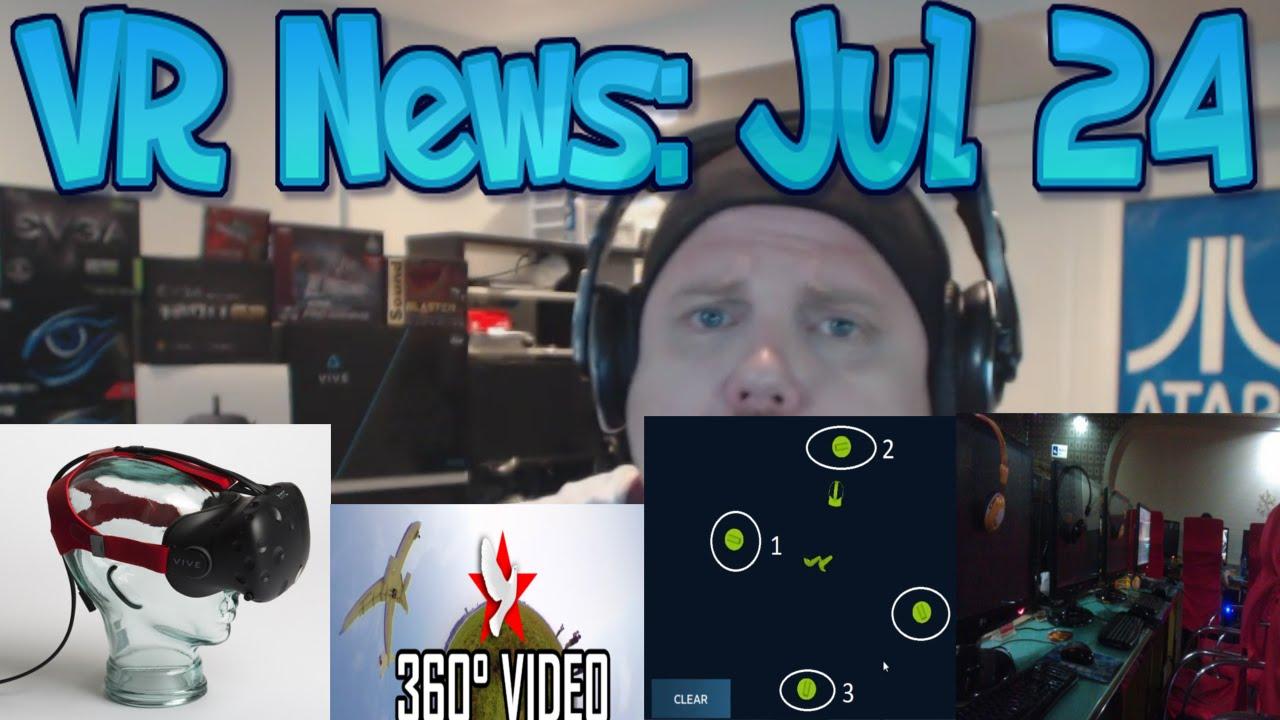 VR News: Jul 24 - Where's the games?! - Rift Room VR - China VR - Dota Vive - Pyongang in 360 - YouTube