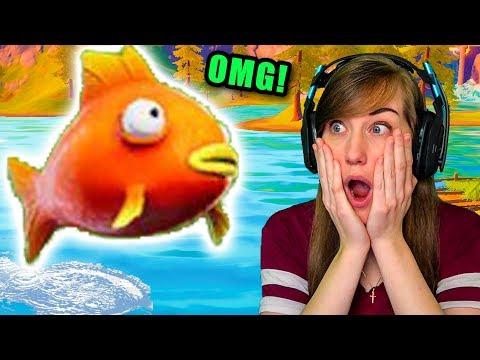 I Found the Super *Rare* MEGA Fish in Fortnite!