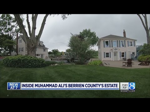 Inside Muhammad Ali's Berrien Springs estate