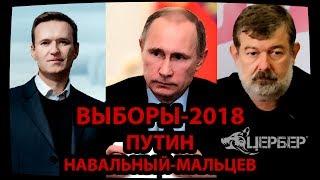 Выборы2018, Путин, Навальный, Мальцев [Мысли Цербера]