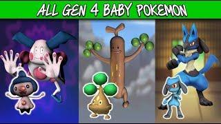 All Gen 4 Baby Pokemon In Pokemon Go