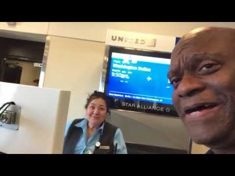 United Airlines Atlanta Gate Agent Anastasia Welcomes Zennie Abraham, Talks Kevin Brooks