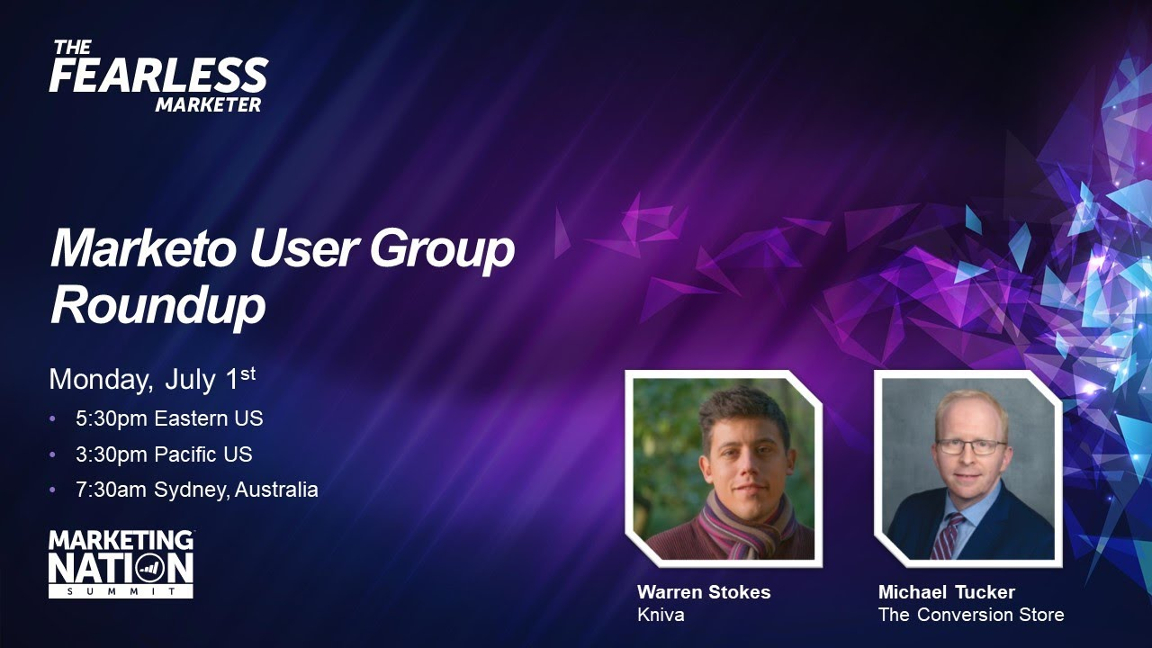 HeyAmandaT: It was great to participate in the @marketo user group roundup for June! nhttps://t.co/IJQtb9xMW1nn#MarketingOps… https://t.co/TLFCR00uuf