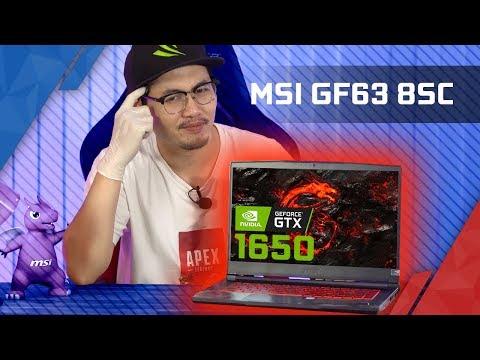 Laptop GTX 1650 MẠNH CỠ NÀO? MSI GF63 Thin 8SC