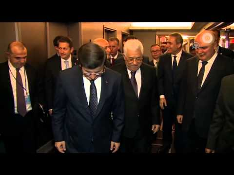 Turkish PM Ahmet Davutoglu in New York