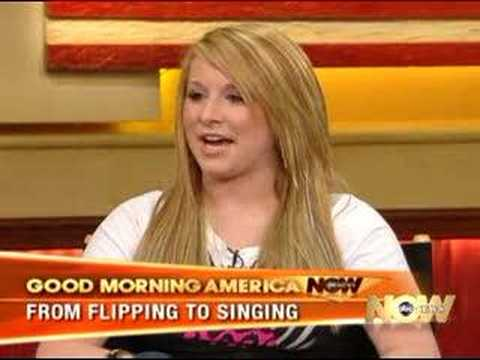 Carly Patterson on Good Morning America