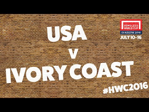 United States v Ivory Coast l Men's Globe Third Place Play Off #HWC2016