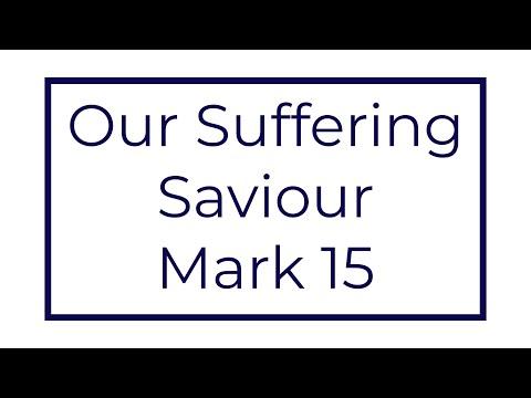 Good Friday Sermon - Our Suffering Saviour