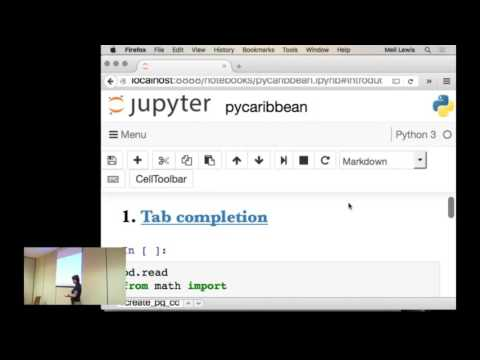 PyCaribbean 2016 - Introduction to data cleaning with Jupyter and pandas by Melissa Lewis