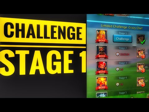 Lords Mobile - Limited Challenge Stage 1