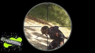 Paintball Explosion Sniping