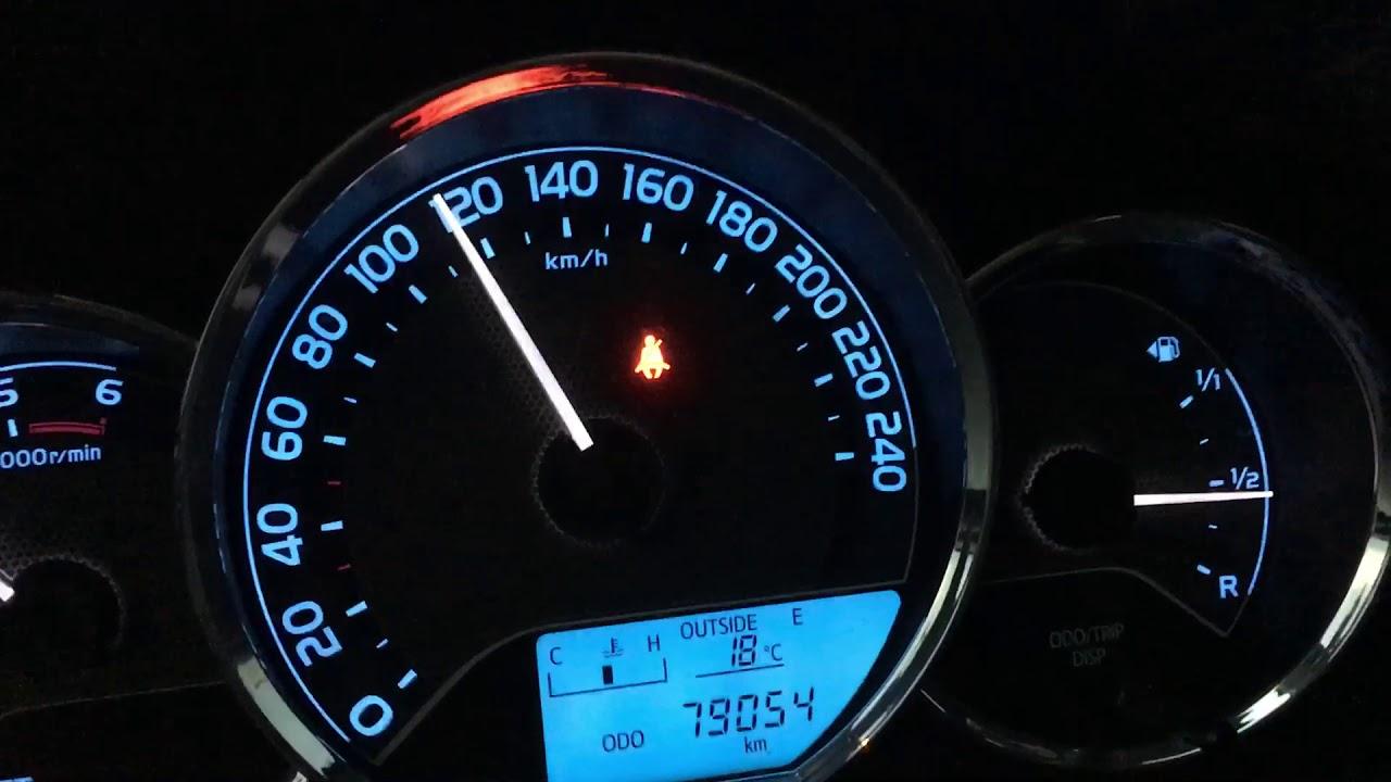 Toyota Auris 1.4 D4D NDE180 Top Speed 200 km/h