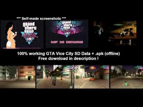 GTA Vice City SD Data + .apk - Tested ,works 100%