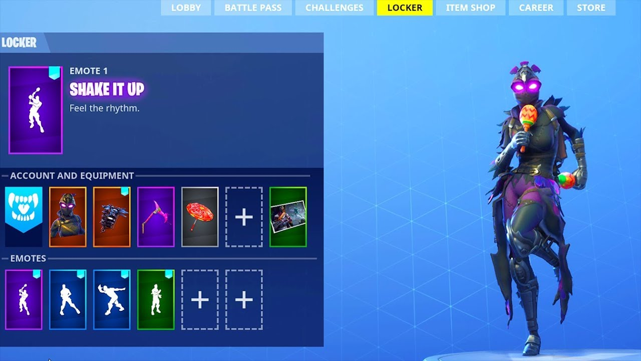 NEW! DANCE EMOTES! (Leaked) Fortnite Battle Royale - YouTube