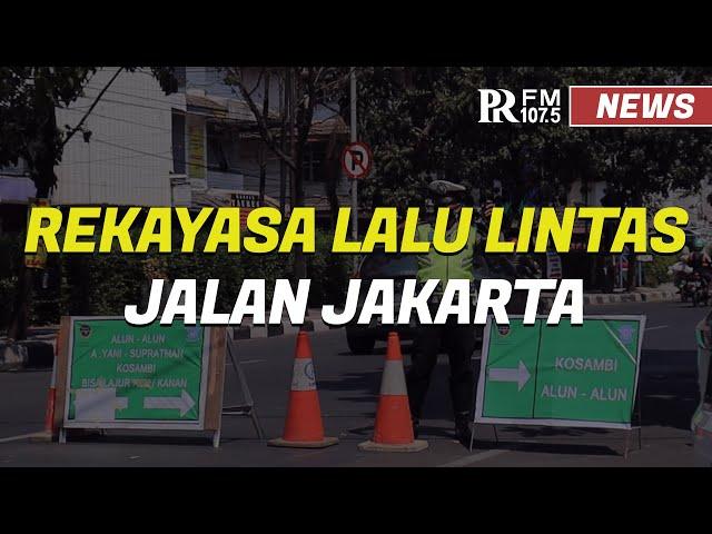 Rekayasa Lalu Lintas Proyek Flyover Jalan Jakarta-Supratman Kota Bandung
