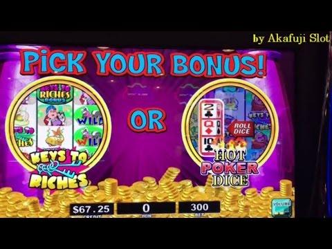 Super Big Win★Stinkin' Rich Slot, Hot POKER DICE With PROGRESSIVES Bonus, Barona Casino, Akafujislot