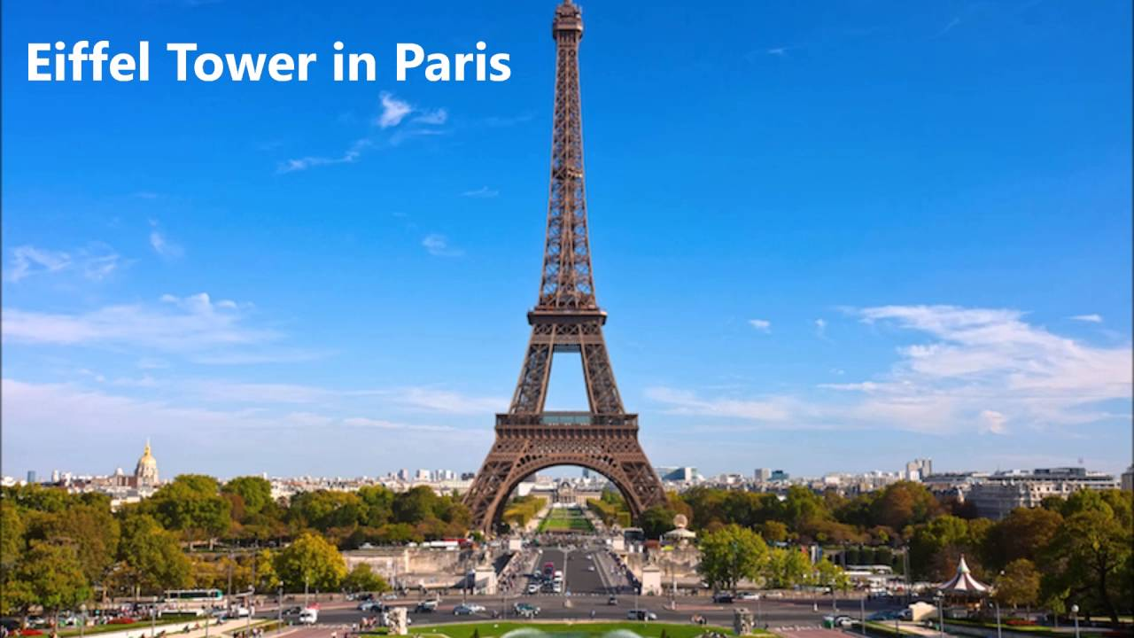 8 most famous landmarks in france chris butler youtube