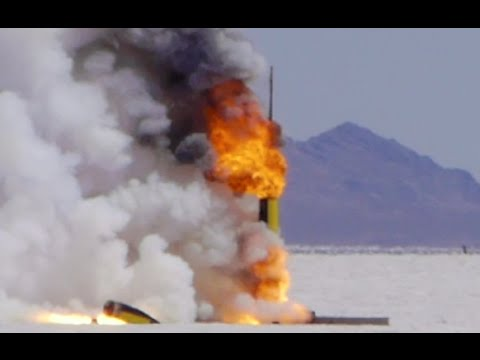 Hellfire Weekend Rocket Competition at the Bonneville Salt Flats