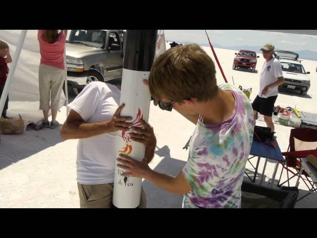 Hellfire Weekend Rocket Competition at the Bonneville Salt Flats