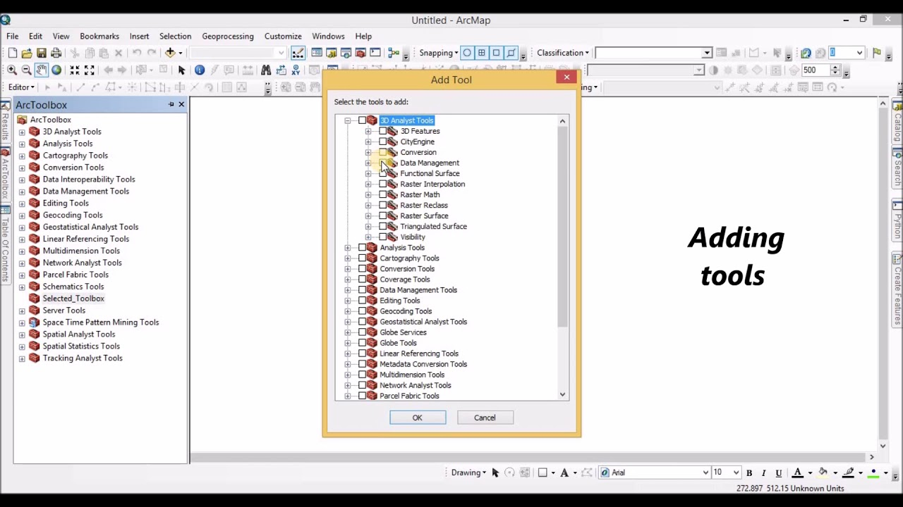 Add a Custom Toolbox in ArcMap
