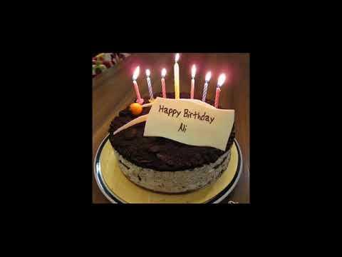 Happy Birthday Ali Whatsapp Status Youtube