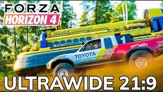 Forza Horizon 4 4K Ultrawide Gameplay (3440x1440 21:9 Vega 64)