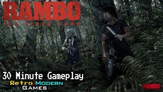 Rambo: The Video Game - PC / 360 / PS3 - 30 Minute Gameplay