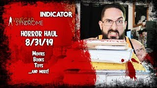 Horror Movie Haul and Unboxing: 8/31/19   Indicator, Code Red, Vinegar Syndrome, & more! #horrorhaul
