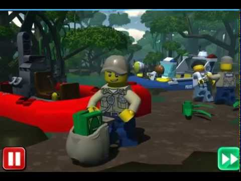Lego online game - Swamp Police - YouTube