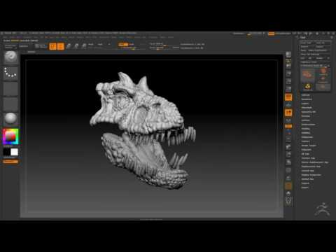 They Carnivate: Digital Dino Sculpt (part 2)
