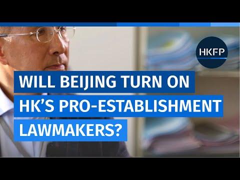 Does establishment lawmaker Michael Tien fear being marginalised by Beijing in the new legislature?