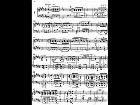 Scriabin 5 Preludes Op.16 - No.2 in G sharp minor