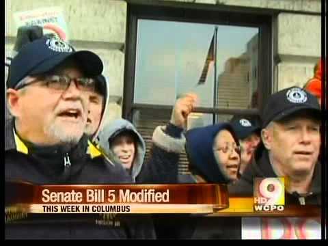 Union groups blast Ohio bargaining bill
