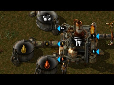 Factorio - Advanced Oil Processing in 1 Hour