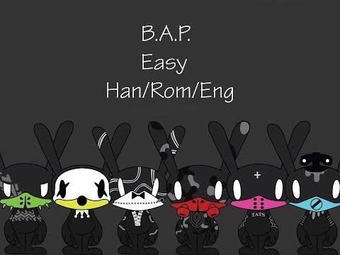 B.A.P. - Easy(쉽죠) Han/Rom/Eng Lyrics