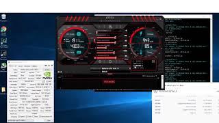 Increase GPU Mining - Overclocking & Undervolting MSI Afterburner 1070 1080 TI Graphics Card Video