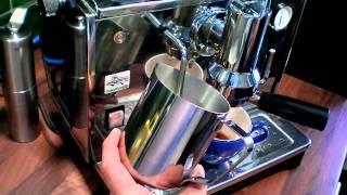 The perfect espresso / Espresso & latte on my Ponte Vecchio Lusso.