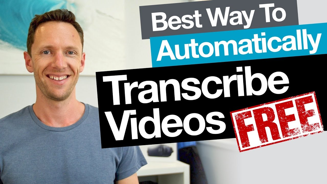 video The Best Audio-or-Video to Text Transcription Software