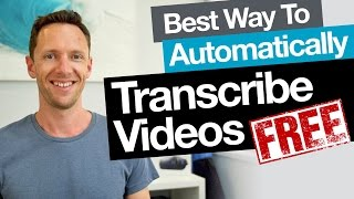 Transcription: Best Free Way to Automatically Transcribe Video (Audio to Text)(, 2015-09-17T10:31:49.000Z)