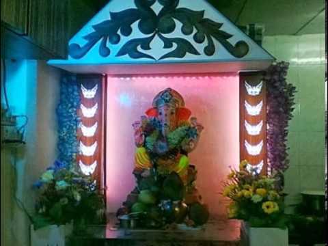 Vinayak Kondalkar Ganpati Festival Home Decoration 2013