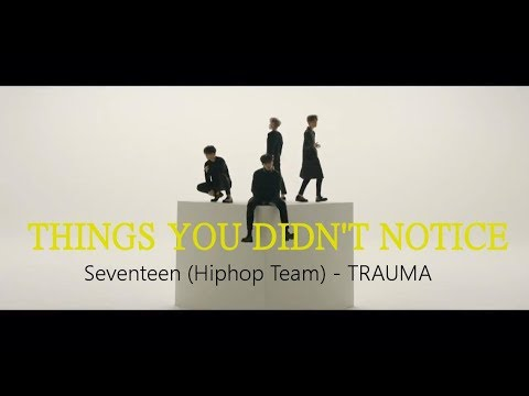 THINGS YOU DIDN'T NOTICE: SVT (Hiphop Team) - Trauma
