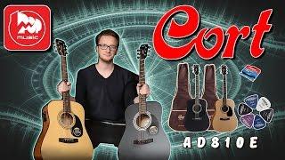 Гитарный комплект CORT AD810E (гитара+ чехол+ шнур+ медиаторы)
