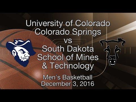 Mens Basketball UCCS vs SDMines