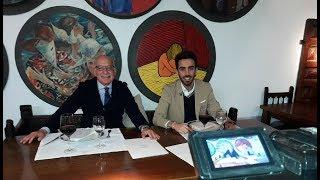 Entrevista en Conversaciones con...En El Riojano, de Popular TV Cantabria.