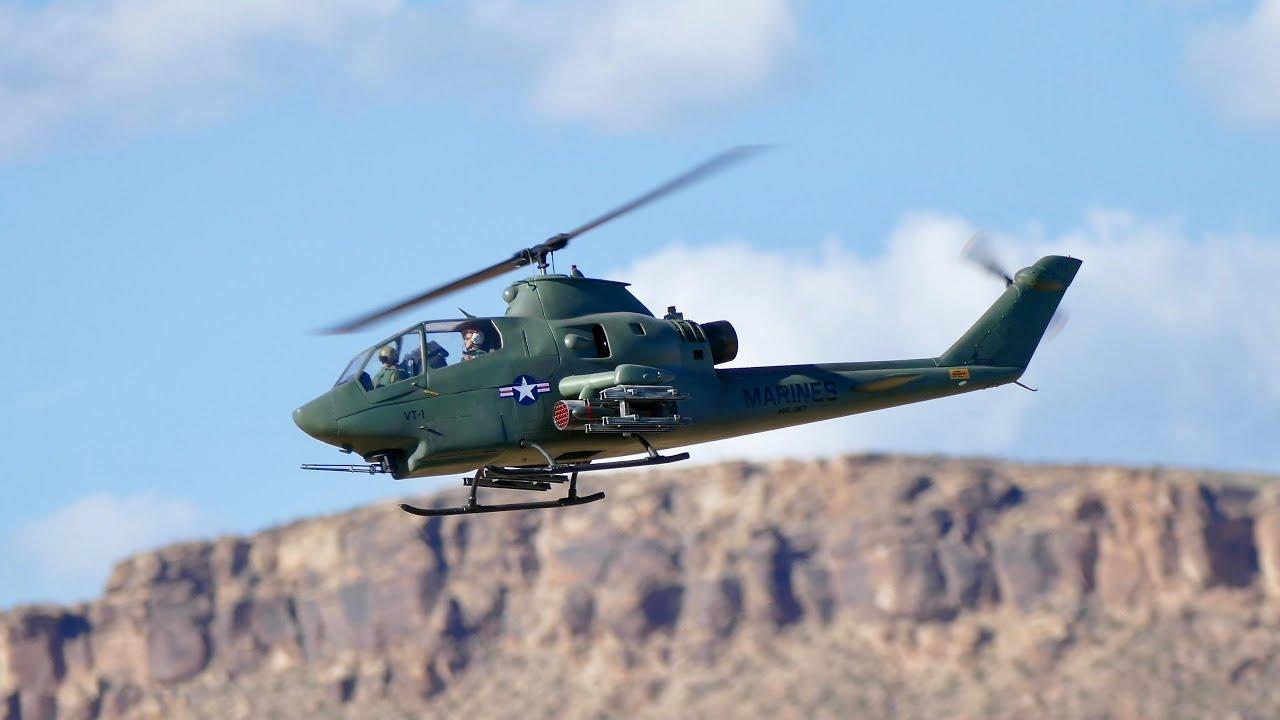 1:6 Scale AH-1F Cobra by Jim Spice - St  George, Utah, 2017