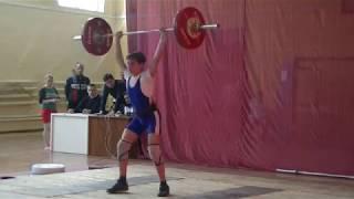 Маклаков Тимур,13 лет, вк 56 кг  Толчок 85 кг