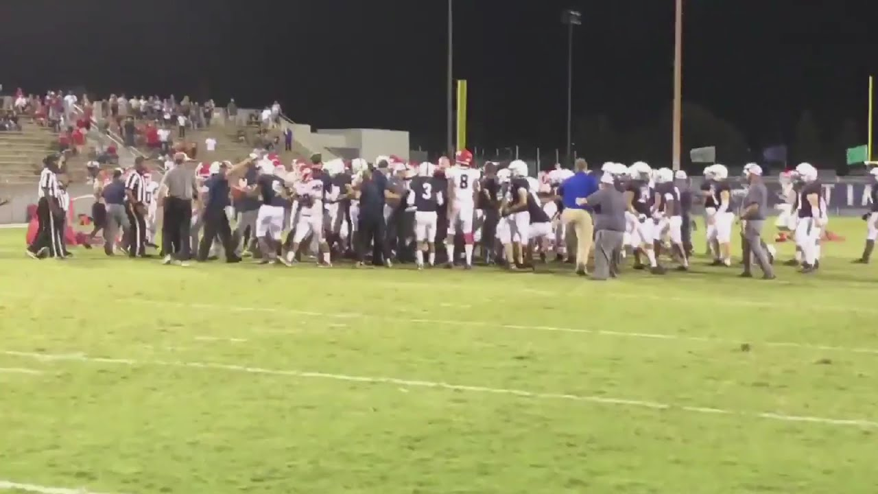 Brawl breaks out after football game between Clovis East and Sanger high schools. Districts respond