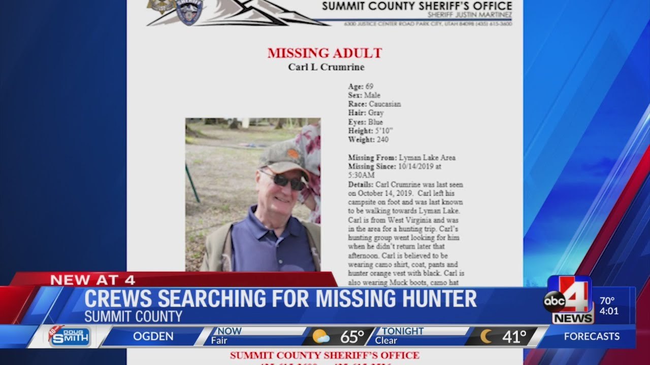 West Virginia hunter missing in Summit County mountains